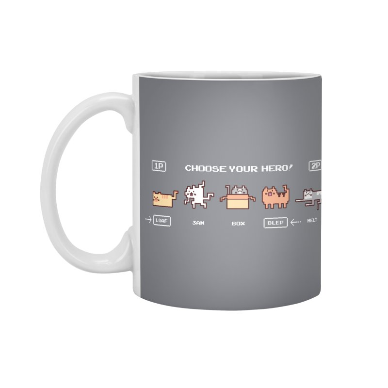 Choose your hero Accessories Mug by Randyotter