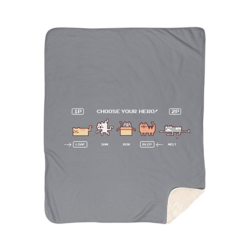 Choose your hero Home Sherpa Blanket Blanket by Randyotter