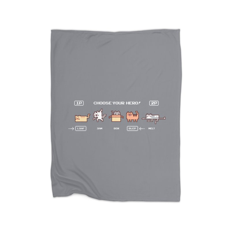 Choose your hero Home Blanket by Randyotter