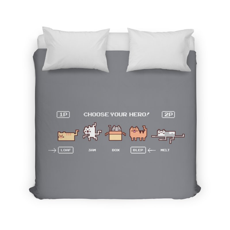 Choose your hero Home Duvet by Randyotter