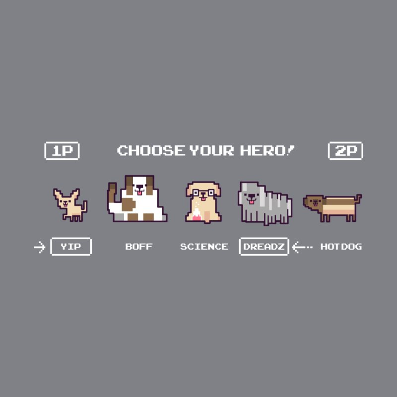 Choose your hero Women's Scoop Neck by Randyotter