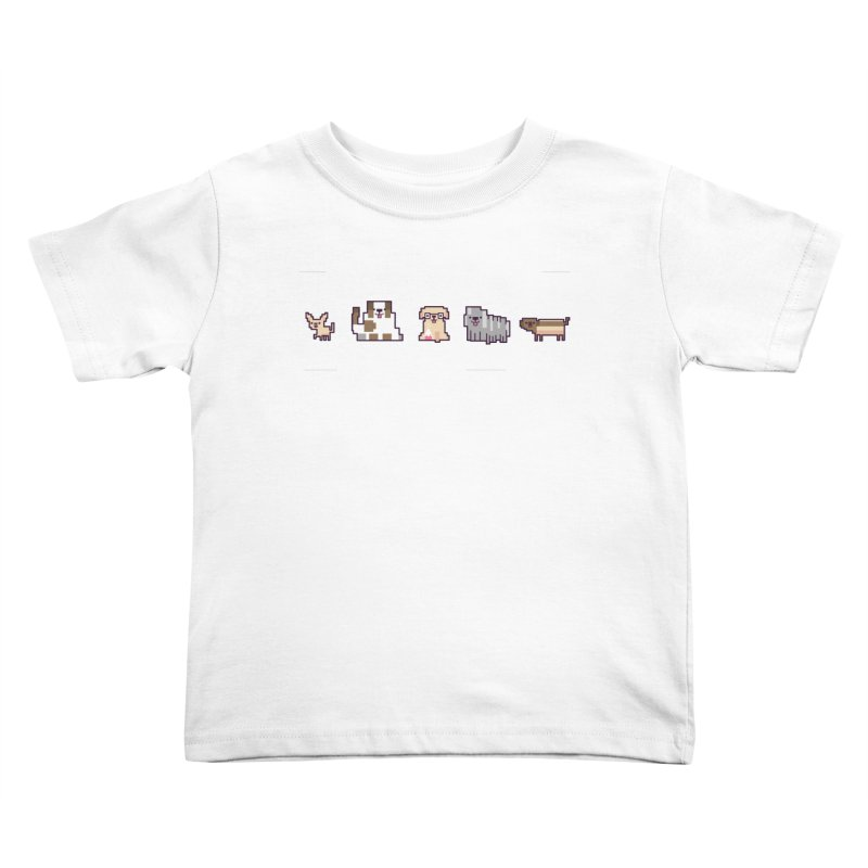 Choose your hero Kids Toddler T-Shirt by Randyotter