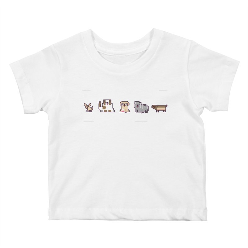 Choose your hero Kids Baby T-Shirt by Randyotter