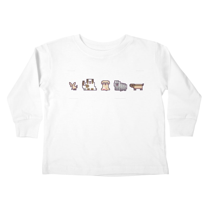 Choose your hero Kids Toddler Longsleeve T-Shirt by Randyotter
