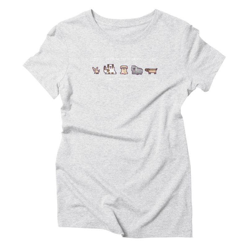 Choose your hero Women's Triblend T-Shirt by Randyotter
