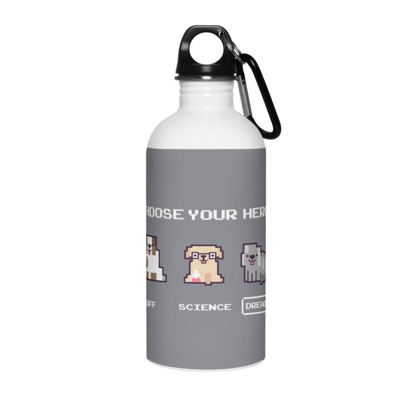 Choose your hero Accessories Water Bottle by Randyotter
