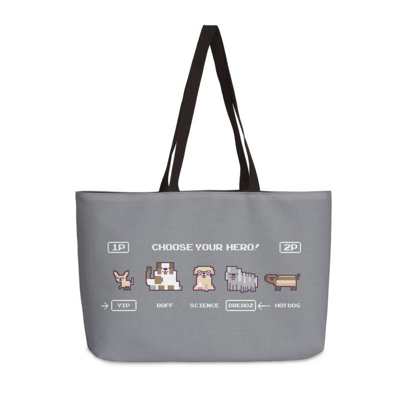 Choose your hero Accessories Weekender Bag Bag by Randyotter