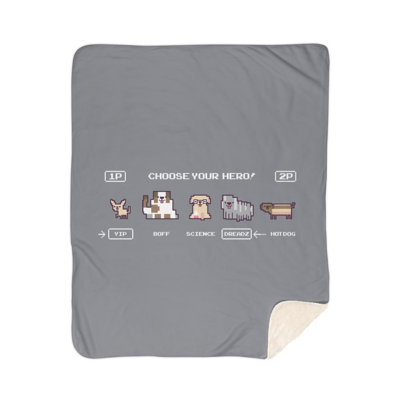 Choose your hero Home Sherpa Blanket Blanket by Randyotter