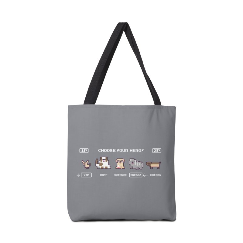 Choose your hero Accessories Tote Bag Bag by Randyotter