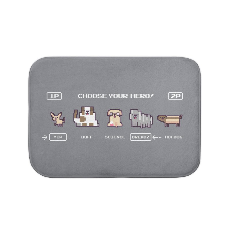 Choose your hero Home Bath Mat by Randyotter