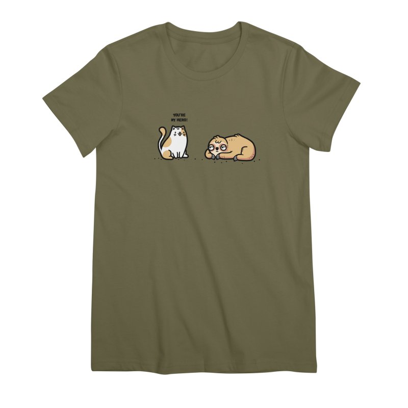My hero Women's Premium T-Shirt by Randyotter