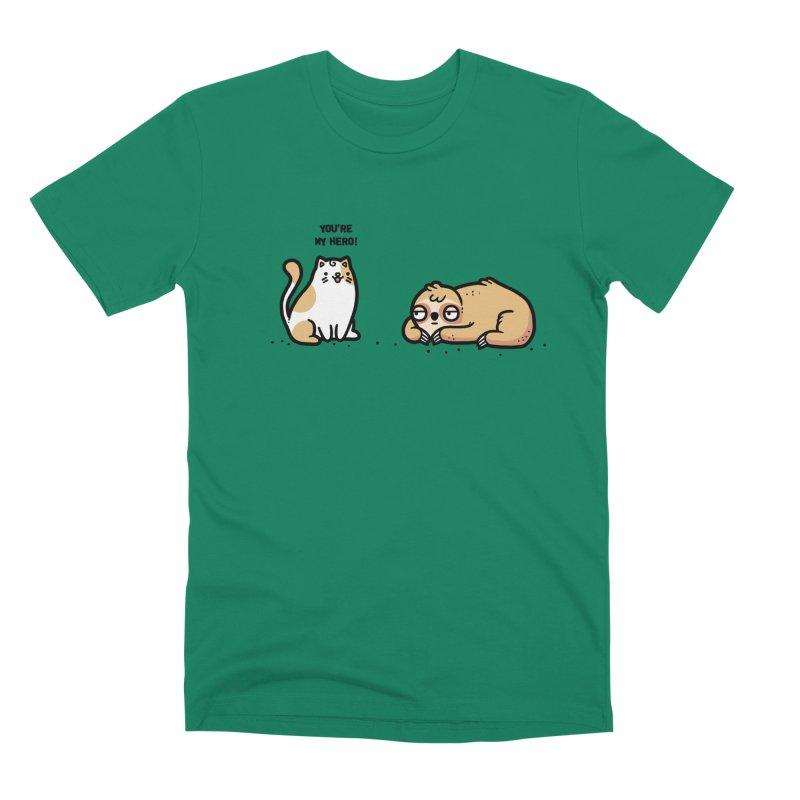 My hero Men's Premium T-Shirt by Randyotter