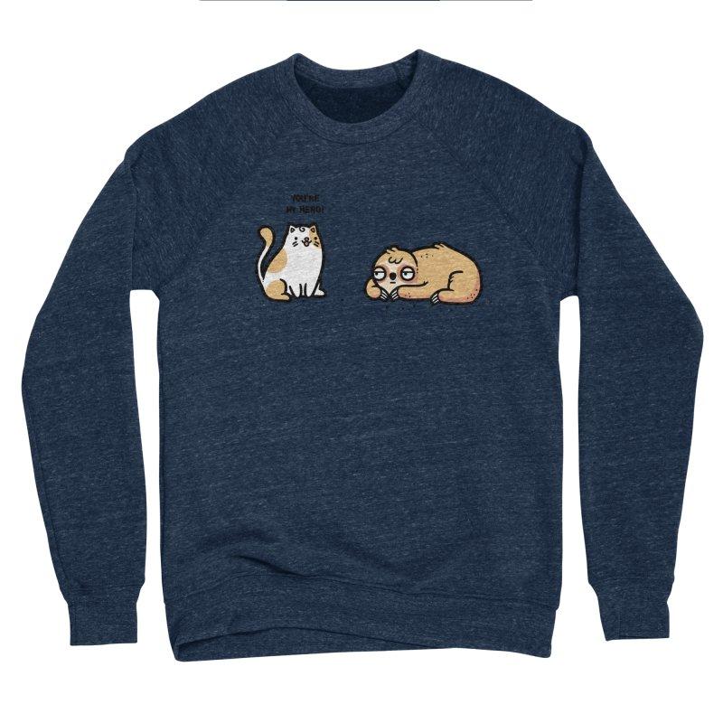My hero Men's Sponge Fleece Sweatshirt by Randyotter