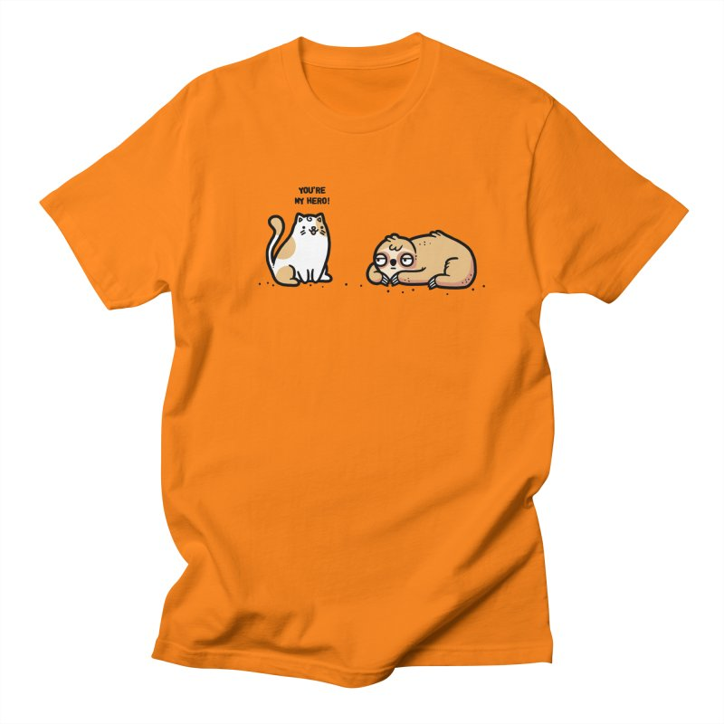 My hero Women's Regular Unisex T-Shirt by Randyotter