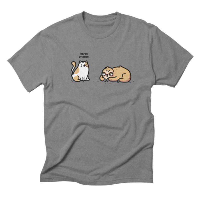My hero Men's Triblend T-Shirt by Randyotter