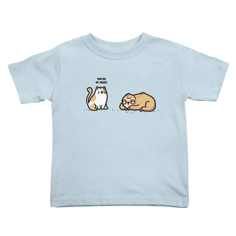 My hero Kids Toddler T-Shirt by Randyotter