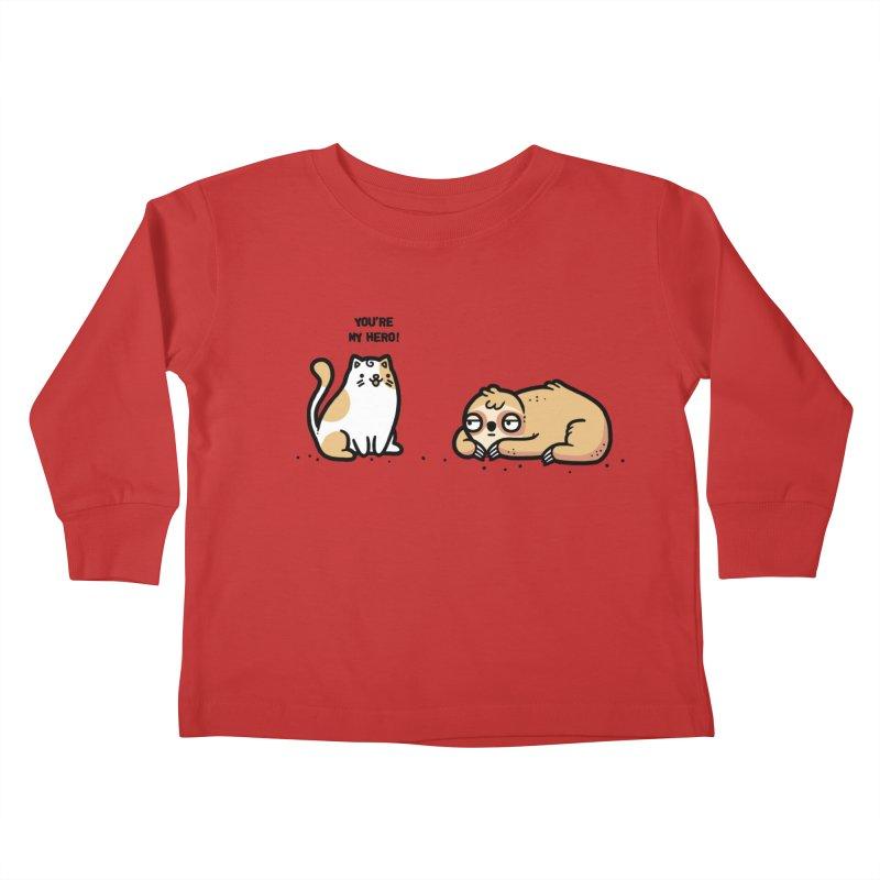 My hero Kids Toddler Longsleeve T-Shirt by Randyotter