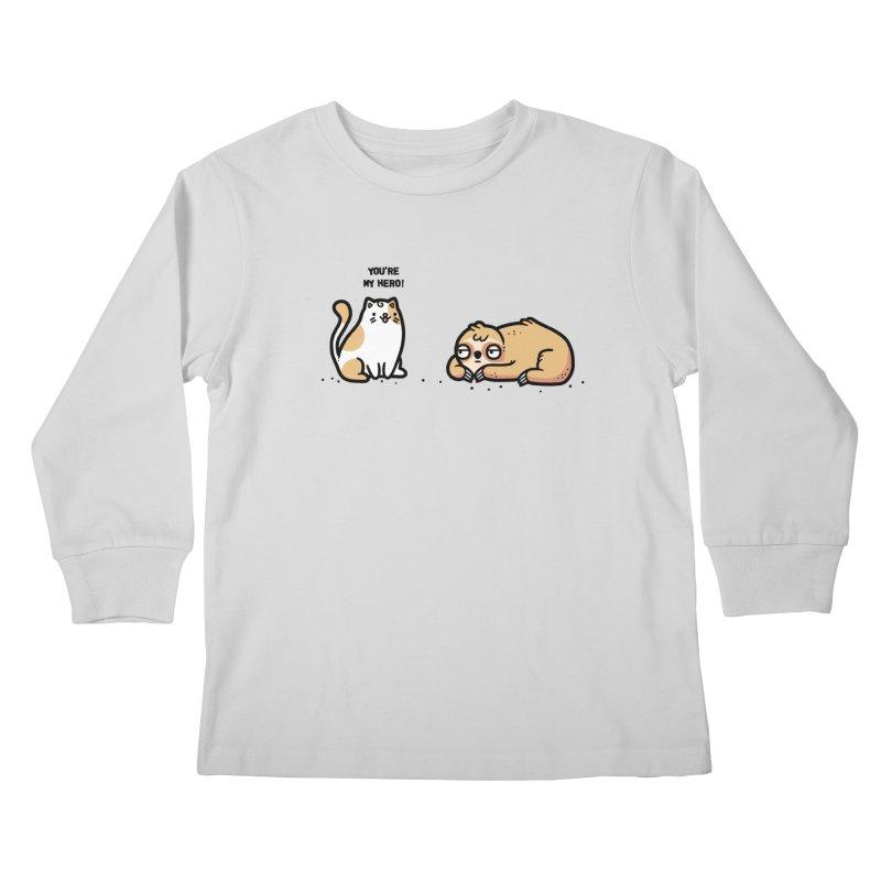 My hero Kids Longsleeve T-Shirt by Randyotter
