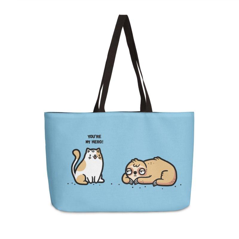 My hero Accessories Weekender Bag Bag by Randyotter