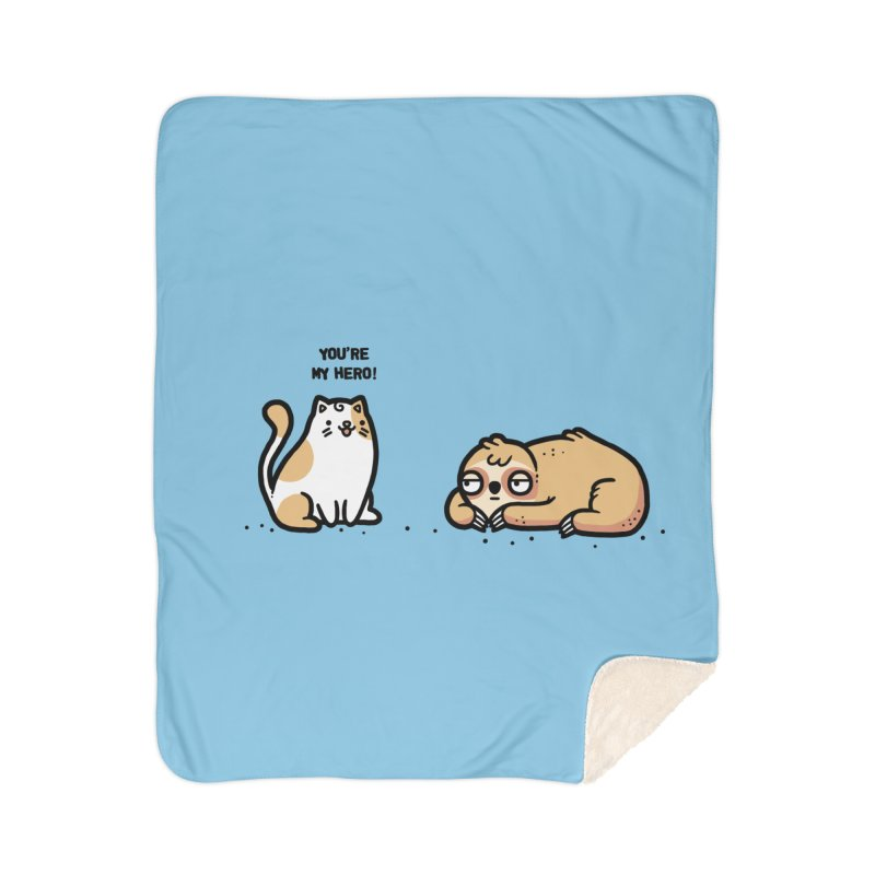 My hero Home Sherpa Blanket Blanket by Randyotter