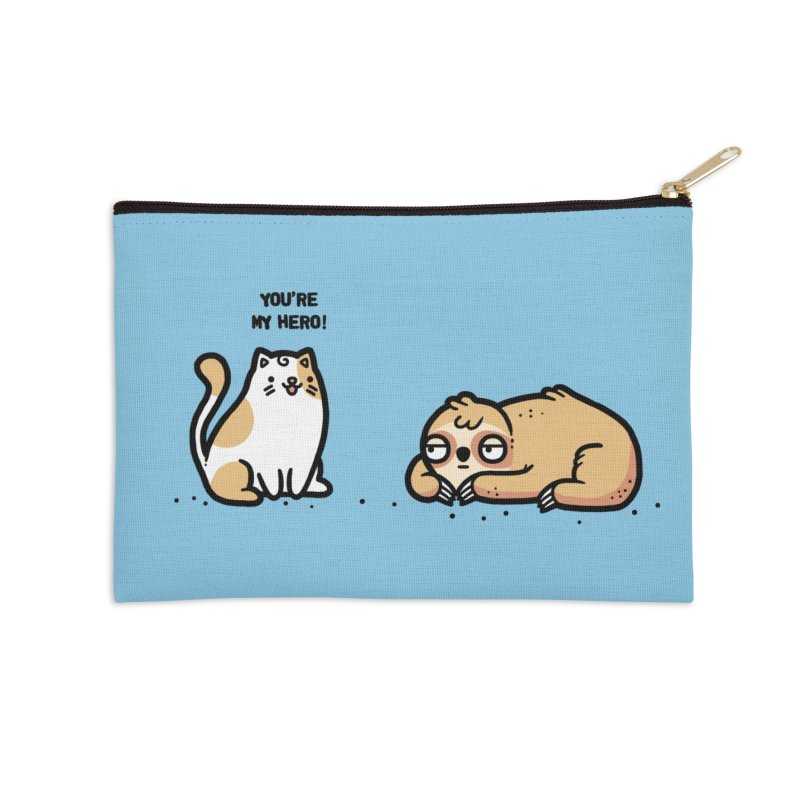 My hero Accessories Zip Pouch by Randyotter