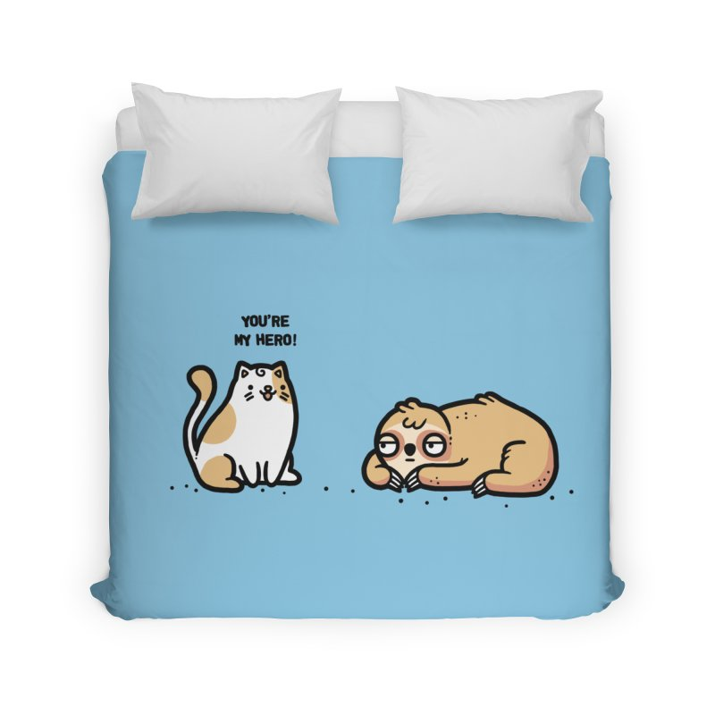 My hero Home Duvet by Randyotter