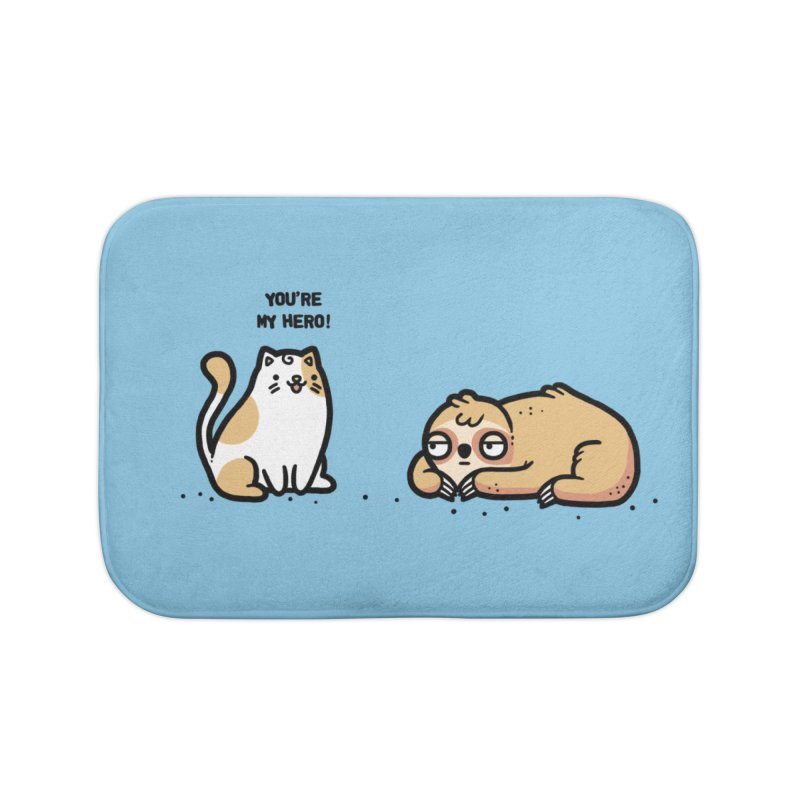 My hero Home Bath Mat by Randyotter