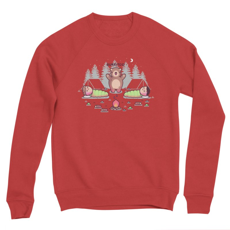 Burritos Men's Sponge Fleece Sweatshirt by Randyotter