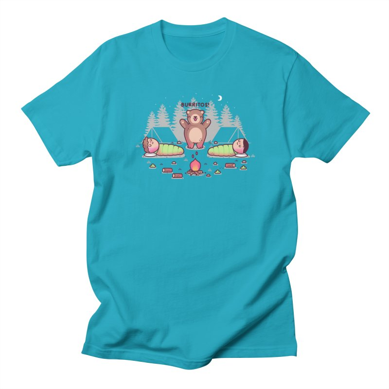 Burritos Men's T-Shirt by Randyotter