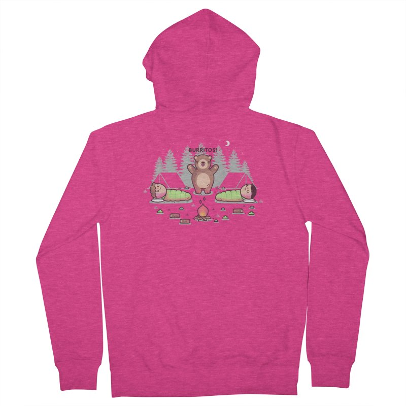 Burritos Women's French Terry Zip-Up Hoody by Randyotter