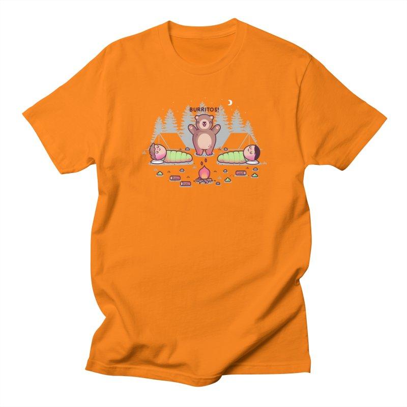 Burritos Men's Regular T-Shirt by Randyotter