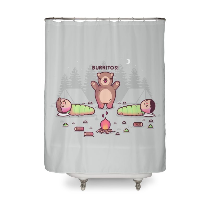 Burritos Home Shower Curtain by Randyotter