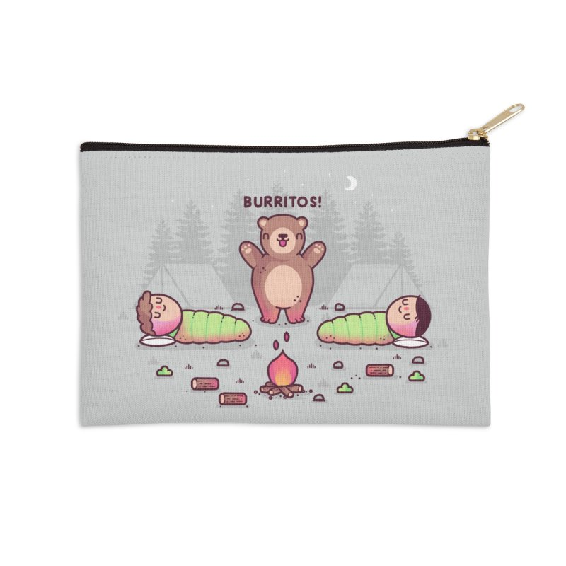 Burritos Accessories Zip Pouch by Randyotter