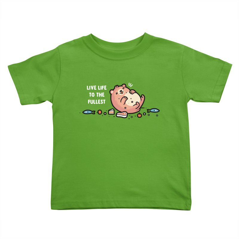 Fullest Kids Toddler T-Shirt by Randyotter