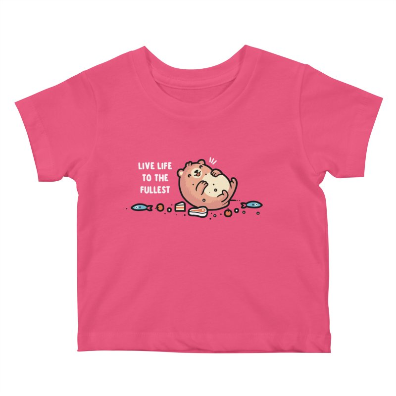 Fullest Kids Baby T-Shirt by Randyotter