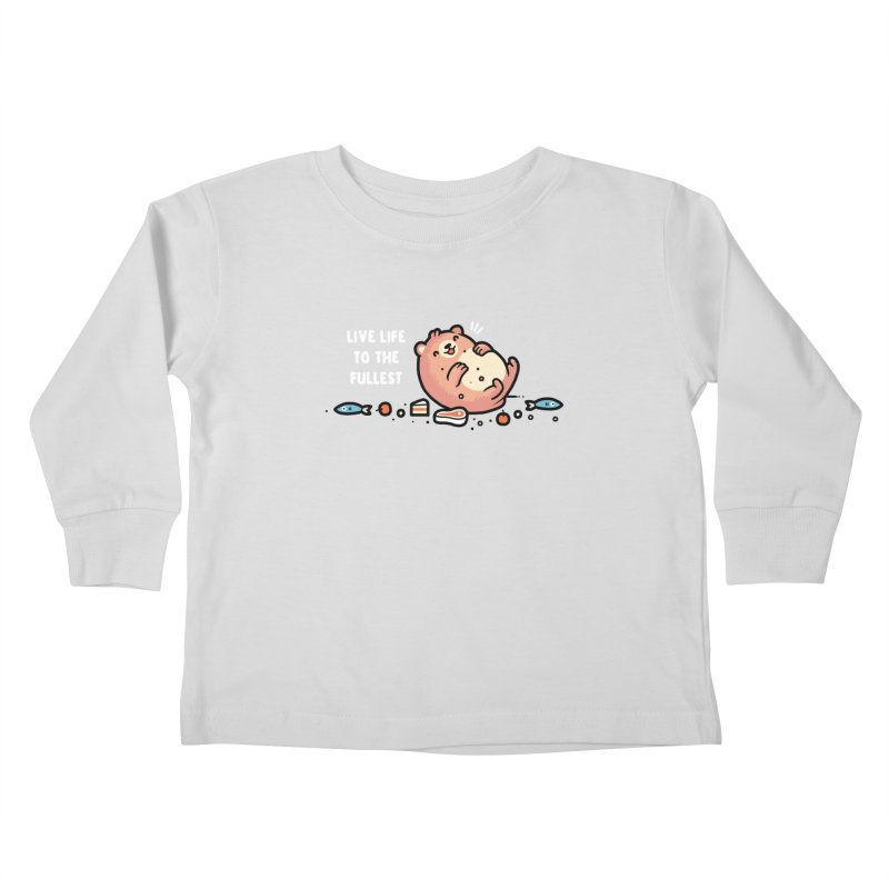 Fullest Kids Toddler Longsleeve T-Shirt by Randyotter
