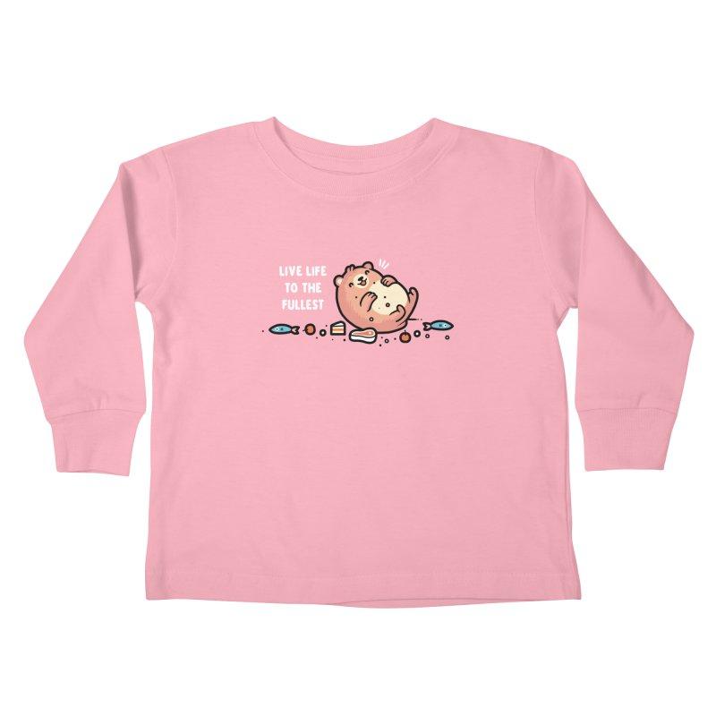 Fullest Kids Toddler Longsleeve T-Shirt by Randyotter