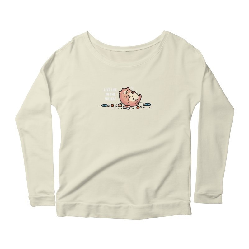 Fullest Women's Scoop Neck Longsleeve T-Shirt by Randyotter