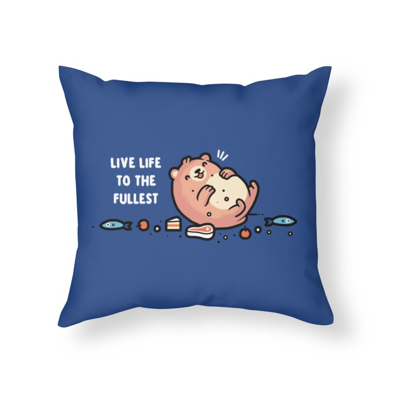 Fullest Home Throw Pillow by Randyotter