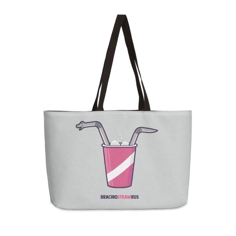Dinostraw Accessories Weekender Bag Bag by Randyotter