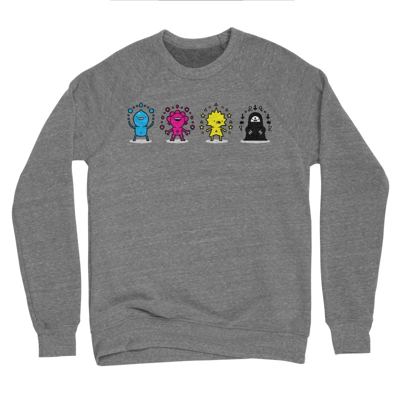 CMYK Women's Sponge Fleece Sweatshirt by Randyotter