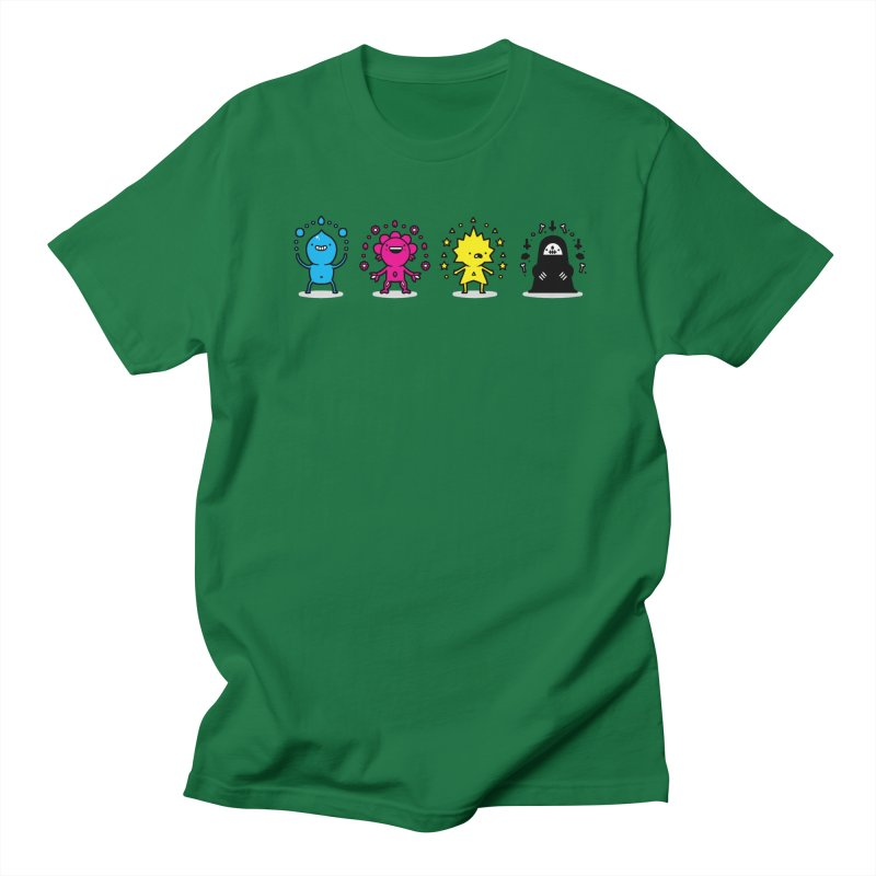 CMYK Men's T-Shirt by Randyotter