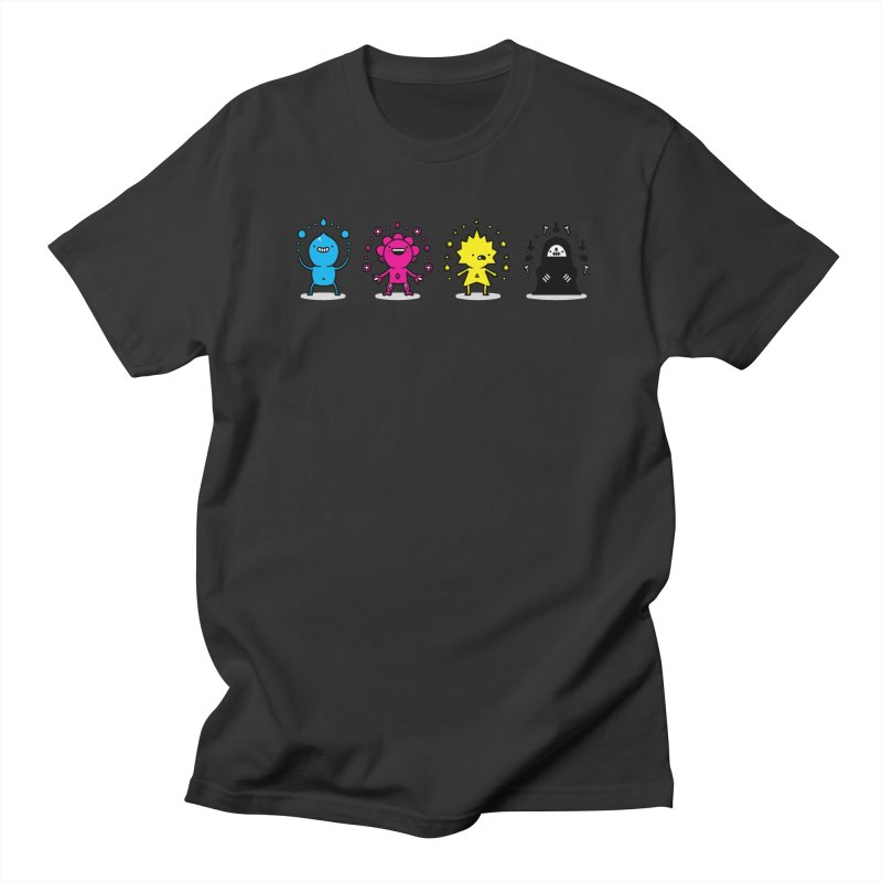 CMYK Women's T-Shirt by Randyotter