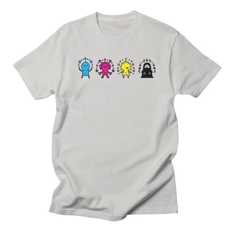 CMYK Women's T-Shirt by Randyotter