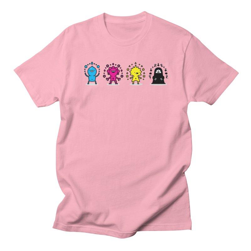 CMYK Men's T-Shirt by Randyotter