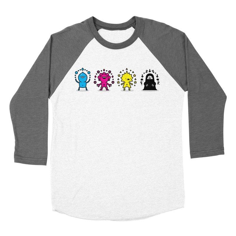 CMYK Women's Longsleeve T-Shirt by Randyotter