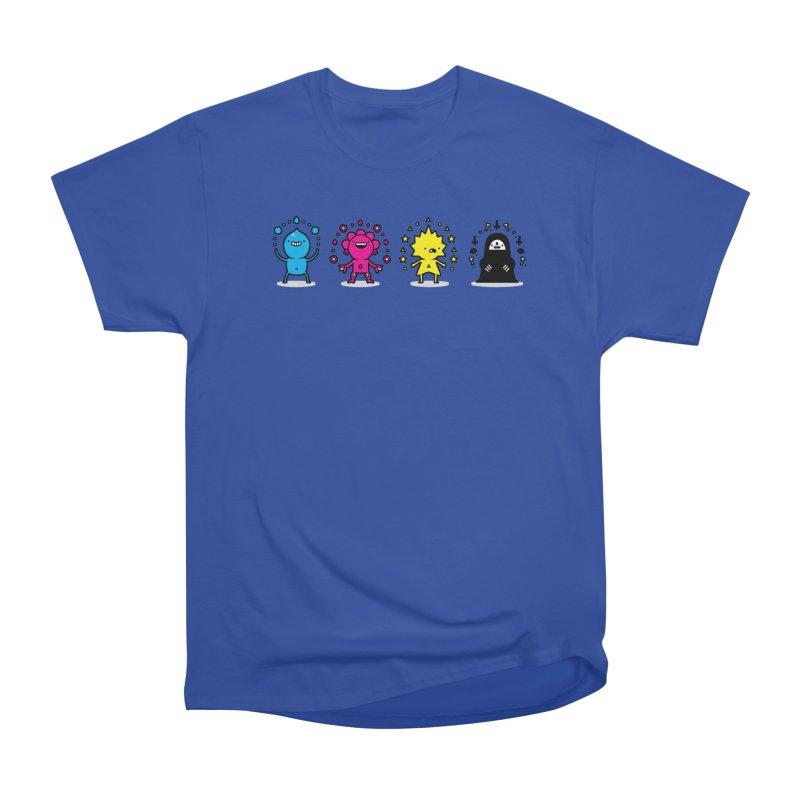 CMYK Men's Heavyweight T-Shirt by Randyotter