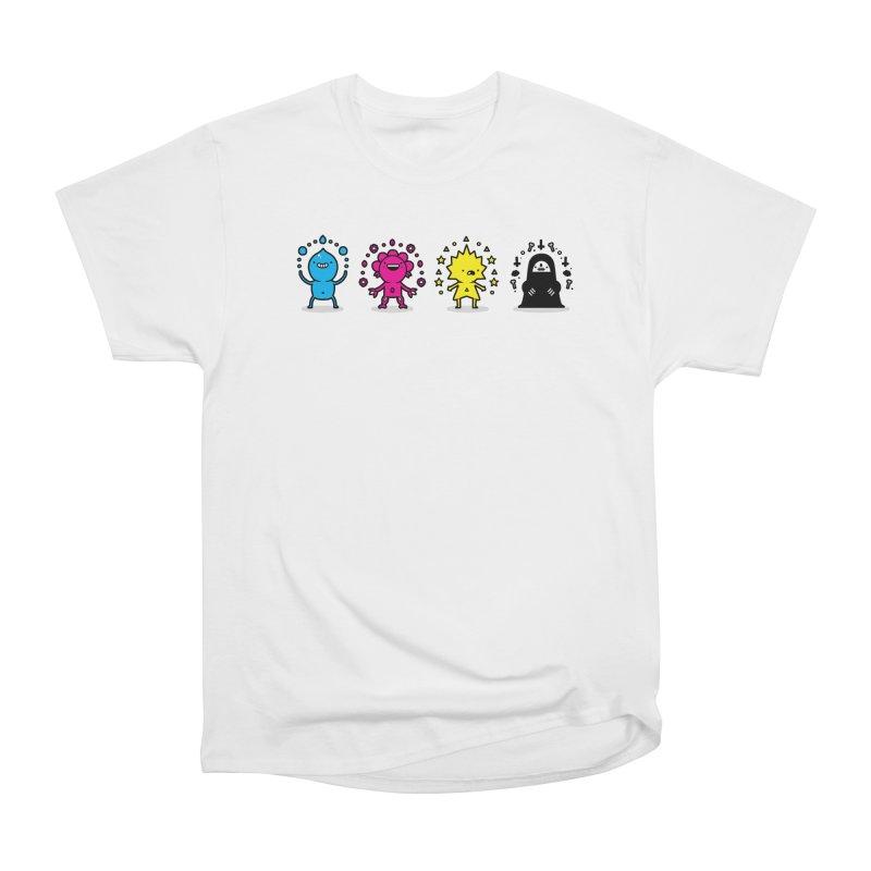 CMYK Women's Heavyweight Unisex T-Shirt by Randyotter