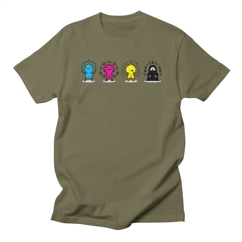 CMYK Women's Regular Unisex T-Shirt by Randyotter