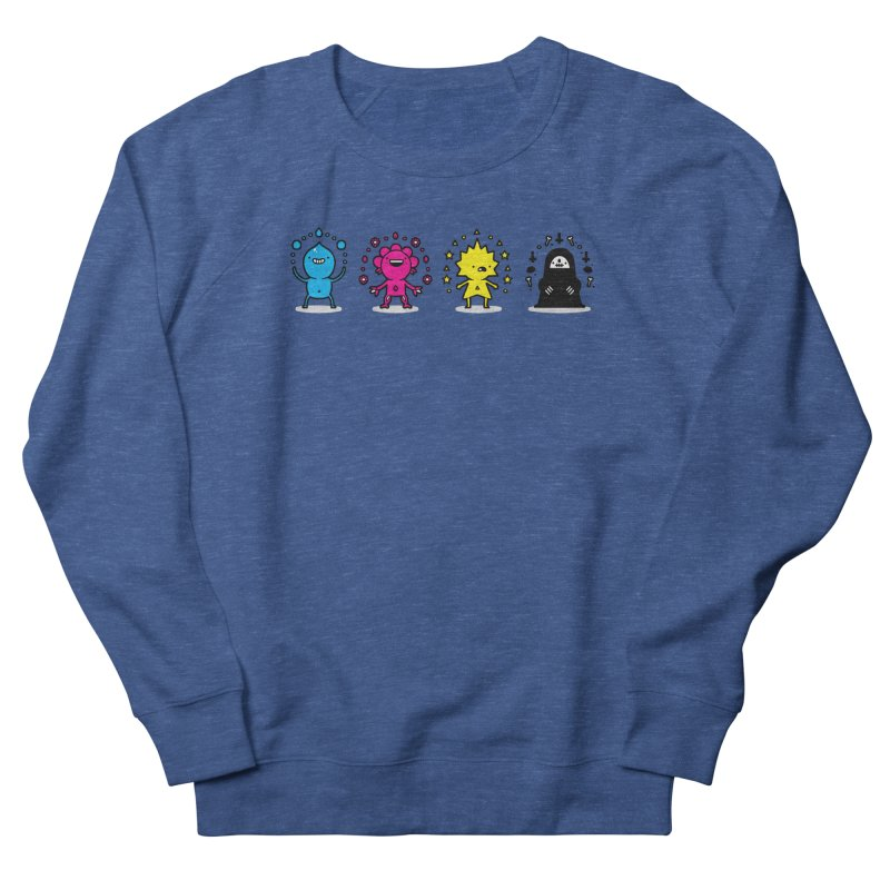 CMYK Women's French Terry Sweatshirt by Randyotter
